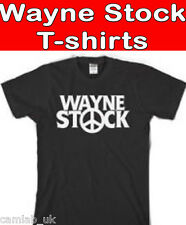 WAYNES STOCK WAYNES WORLD T-SHIRT FANCY DRESS 80s FREE P+P  S - xxl