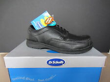"Dr Scholl""s Mens Black Leather Lace Up shoe Style Name ""Paul"""
