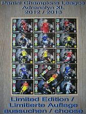 Panini Champions League Adrenalyn XL 2012 2013 Limited Edition aussuchen/ choose