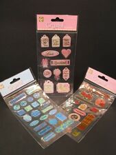 1 x 3D Crystal Embellishment Stickers for Cardmaking Scrapbooking Crafts