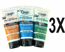 3 x MAGIC BODY HAIR REMOVER REMOVAL CREAM, RAZORLESS SHAVE-NO BLADE SHAVING!
