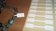 Jewellery Price Stickers / Labels Tags / Dumbells For Keyrings &  Accessories