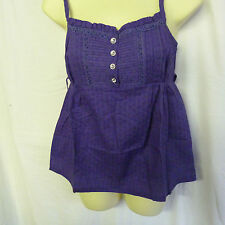 LADIES EX NEW LOOK PURPLE GORGEOUS STRAPPY TOP / CAMISOLE SIZES 6 – 18 Bargain!