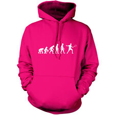 Evolution of Man Squash Player Unisex Hoodie - Hooded top / Jersey gift S-XXL