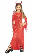 Sale! Kids Red Devilish Diva Girls Halloween Party Fancy Dress Costume Outfit