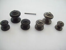 ANTIQUE CAST IRON CUPBOARD CABINET DRAWER KITCHEN DOOR KNOBS PULL HANDLES
