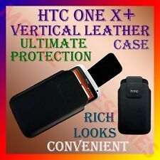 ACM-VERTICAL LEATHER CARRY CASE POUCH COVER for HTC ONE X+ MOBILE PROTECT HOLDER