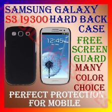 ACM-SAMSUNG S3 I9300 HARD BACK COVER CASE FOR PROTECTION SCREENGUARD FREE S-3