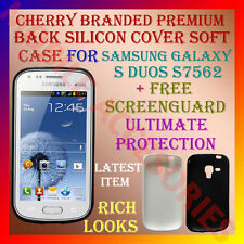 ACM-CHERRY PREMIUM SILICON SOFT CASE COVER SAMSUNG S DUOS S7562 + SCREENGUARD