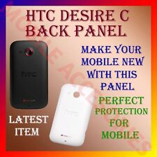 ACM-High Quality Back Battery Door Panel for HTC DESIRE C Housing Case Cover new