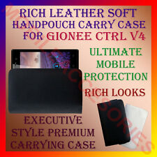 ACM-RICH LEATHER SOFT CARRY CASE GIONEE CTRL V4 MOBILE HANDPOUCH COVER PROTECT