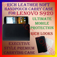 ACM-RICH LEATHER SOFT CARRY CASE for LENOVO S920 MOBILE HANDPOUCH COVER PROTECT