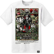 STAR WARS RARE - RETURN OF THE JEDI ARTWORK MOVIE POSTER T SHIRT ROGUE ONE