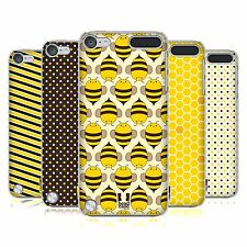 HEAD CASE DESIGNS BUSY BEE PATTERN CASE COVER FOR APPLE iPOD TOUCH 5G 5TH GEN