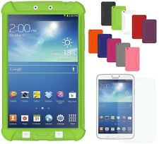 Amzer Soft Silicone Skin Jelly Case Cover For Galaxy Tab 3 8.0 SM-T310 SM-T315