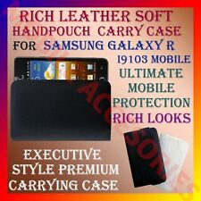 ACM-RICH LEATHER CARRY CASE for SAMSUNG I9103 GALAXY R MOBILE HANDPOUCH COVER