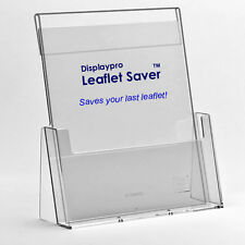 Leaflet Holders & Saver DL A5 A4 Menu Flyer Brochure Dispensers Display Stands