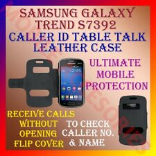 ACM-CALLER ID TABLE TALK CASE for SAMSUNG TREND S7392 MOBILE FLIP FLAP COVER NEW