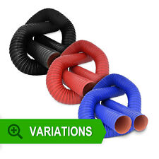 Flexible Air Ducting - Silicone Coated Hot Cold Duct Induction Brake Feed