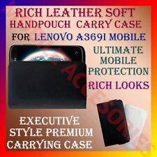 ACM-RICH LEATHER SOFT CARRY CASE for LENOVO A369I MOBILE HANDPOUCH COVER PROTECT