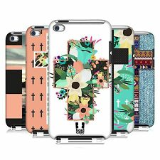 HEAD CASE CROSS COLLECTION HARD BACK CASE COVER FOR APPLE iPOD TOUCH 4G 4TH GEN