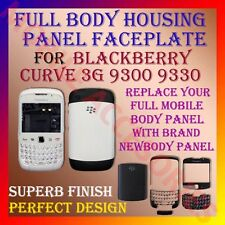 ACM-HIGH QUALITY FULL HOUSING PANEL FACEPLATE for BLACKBERRY CURVE 3G 9300 9330