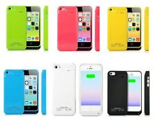 2200MAH PORTABLE EXTERNAL POWER BACKUP BATTERY CASE FOR APPLE IPHONE 5C 5S 5