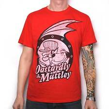 HANNA BARBERA DASTARDLEY & MUTLEY T SHIRT 100% OFFICIAL WACKY RACES