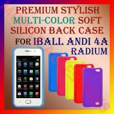ACM-PREMIUM STYLISH MULTI-COLOR SOFT SILICON CASE for IBALL ANDI 4A RADIUM COVER