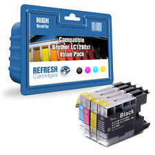 REFRESH CARTRIDGES FULL SET OF LC1280XL INK COMPATIBLE WITH BROTHER PRINTERS