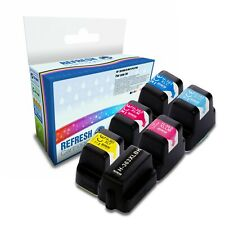 6 COMPATIBLE HP 363 HIGH CAPACITY PHOTOSMART PRINTER INK CARTRIDGES 1 FULL SET