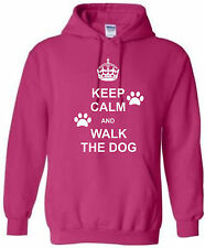Kids Purple Keep Calm and Canter On Hoodie Free 1st Class Delivery From Age 1//2