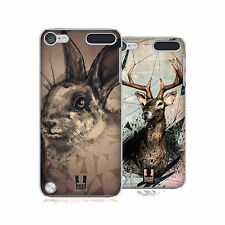 HEAD CASE DESIGNS POLY SKETCH CASE COVER FOR APPLE iPOD TOUCH 5G 5TH GEN