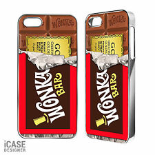 Wonka Chocolate Bar Golden Ticket Phone Case for iPhone 4/4s/5/5c/5s & iPod