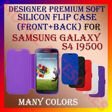 ACM-DESIGNER PREMIUM SILICON SOFT FLIP CASE for SAMSUNG S4 I9500 MOBILE COVER