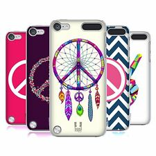 HEAD CASE DESIGNS PEACE EMBLEMS CASE COVER FOR APPLE iPOD TOUCH 5G 5TH GEN