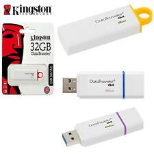 KINGSTON DATATRAVELER G4 FAST USB 3.0 PEN KEY FLASH DRIVE / MEMORY STICK