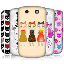 HEAD CASE PRINTED CATS PROTECTIVE BACK CASE COVER FOR BLACKBERRY TORCH 9800 9810