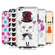 HEAD CASE DESIGNS PRINTED CATS CASE COVER FOR APPLE iPOD TOUCH 4G 4TH GEN