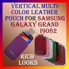 ACM-VERTICAL LEATHER POUCH COVER MULTICOLOR of SAMSUNG GRAND I9082/NEO I9060 NEW