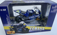 MAISTO YAMAHA YZR-M1 model MotoGP race bikes Rossi Edwards Lorenzo Spies 1:18th