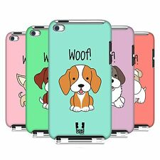 HEAD CASE DESIGNS HAPPY PUPPIES CASE COVER FOR APPLE iPOD TOUCH 4G 4TH GEN