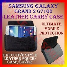 ACM-HORIZONTAL LEATHER CARRY CASE for SAMSUNG GALAXY GRAND 2 G7102 POUCH COVER