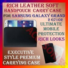 ACM-RICH LEATHER SOFT CARRY CASE for SAMSUNG GALAXY GRAND 2 G7102 HANDPOUCH NEW