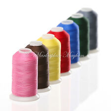 STRONG BONDED NYLON -SEWING THREAD - ROT PROOF - 60S - TEX 45 - 500M METRE BY MM