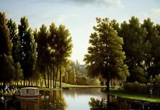 "Jean-Joseph Bidauld: ""The Park at Mortefontaine"" (1806) — Giclee Fine Art Print"
