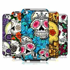 HEAD CASE DESIGNS FLORID OF SKULLS CASE COVER FOR APPLE iPOD TOUCH 4G 4TH GEN