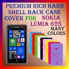 ACM-PREMIUM HARD SHELL BACK COVER for NOKIA LUMIA 625 MOBILE CASE PANEL HOLDER