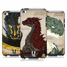 HEAD CASE DESIGNS DRAGONS CASE COVER FOR APPLE iPOD TOUCH 4G 4TH GEN