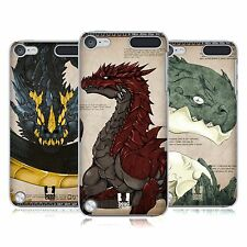 HEAD CASE DESIGNS DRAGONS CASE COVER FOR APPLE iPOD TOUCH 5G 5TH GEN